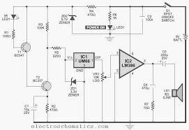ir infrared detector circuit infrared detector circuit schematic