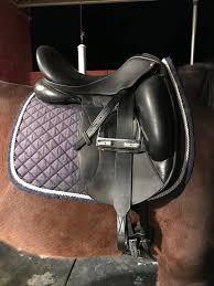 custom saddlery icon star super b s dressage saddle