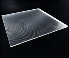 ribbed plastic sheet