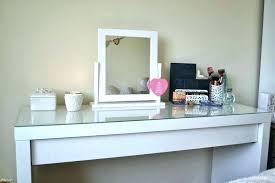 desk for makeup make up desks ideas table minimalist white storage vanity