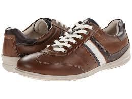 upc 737429765561 product image for ecco chander retro sneaker walnut marine white