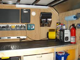 Cabinets For Cargo Trailers Enclosed Trailer Camper Google Search Cargo Trailer