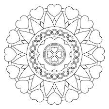 Small Picture 287 best Mandalas images on Pinterest Coloring books Coloring