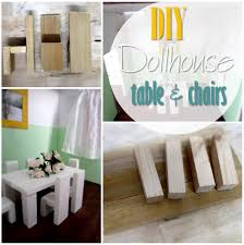 diy doll furniture. Blog Thumbnail - DIY Dollhouse Table And Chairs Diy Doll Furniture L