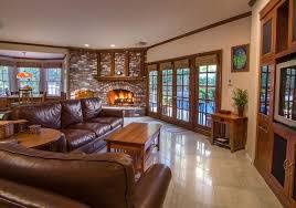 open kitchen living room floor plan. Pleasing Open Concept House Plans Rustic : Kitchen Living Room Floor With Brown Plan R