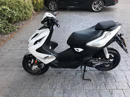 yamaha 50cc scooter. yamaha aerox 50cc scooter 2016 reg white/black 1,500 miles £1750