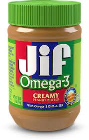 creamy peanut er with omega 3 dha epa