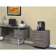 filing cabinets for home. Unique Cabinets 3Drawer File Cabinet With Castors In Dark Taupe ReclaimedLook On Filing Cabinets For Home V
