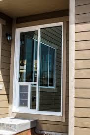 electronic patio dog doors