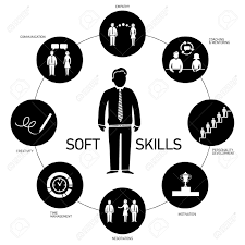 soft skill stock illustrations cliparts and royalty soft soft skill soft skills vector icons and pictograms set black and white illustration