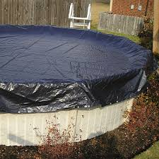 Winter Pool Cover 21ft Round Above Ground Pool WC706 4