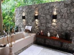 Small Picture 30 Outdoor Bathroom Designs Home Design Garden Architecture