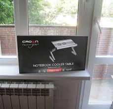 Обзор на Подставка-столик под ноутбук <b>Crown</b> Micro <b>CMLS</b>-<b>100</b>