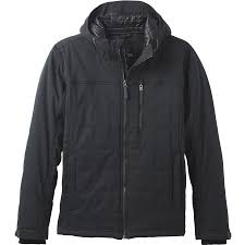 Prana Zion Quilted Jacket - Men's   Backcountry.com & Prana - Zion Quilted Jacket - Men's - Black Adamdwight.com