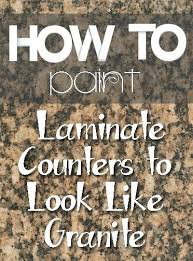 painting formica countertops to look like granite painting laminate