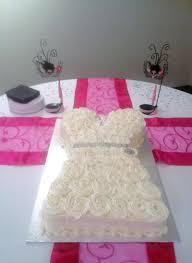 Wedding Dress And Suit Cake Wedding shower dress cake stunning