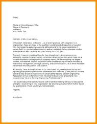 Cover Letter Examples For Recent College Graduates College How To