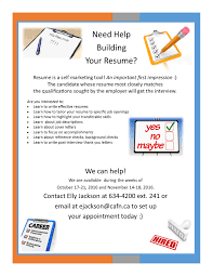 Help Building A Resume Need Help Building Your Resume Book Your Appointment Now 33