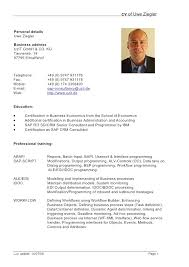 Curriculum Vitae Example Fascinating Curriculum Vitae Example Doc Resume Malawi Research