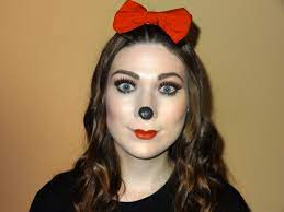minnie mouse makeup lovetoknow