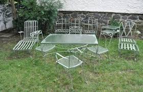 retro metal patio furniture modern outdoor ideas medium size vintage metal patio furniture for table