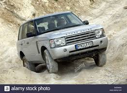 Car, Range Rover Td6, cross country vehicle, model year 2002 Stock ...