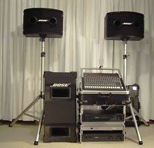 bose 802 speakers for sale. bose 802 series ii professional loudspeaker system with mackie cr 1604 mixer speakers for sale