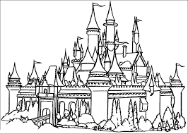 Small Picture Disney Castle Coloring Book Coloring Pages