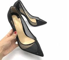 real photo fashion womens black patent leather high heels pumps 12cm size 43 pointed toe designer shoes women pumps luxury stis brown shoes strappy