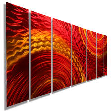 home decor alluring abstract metal wall art with harvest moods xl throughout newest abstract metal