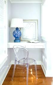 acrylic office chairs. Acrylic Desk Chairs Chair Home Office Transitional With Blue Table Lamp Furniture Uk A