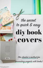 Diy Book Cover Design Insanely Easy Diy Book Cover Tutorial Adds Color In Minutes