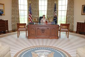 bush oval office. George Bush Oval Office. Recreating The Office At W. Presidential Center