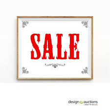 sale signs printable sale sign printable instant download by bloomwhereveryouare 0 art