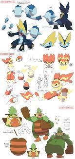 Possible Starter evo leaks | Pokémon Sword and Shield | Pokemon, Pokemon  characters, Pokemon fake