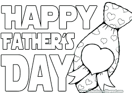 printable coloring fathers day cards happy pages card colouring free color