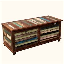lockable storage trunk rustic trunk coffee table coffee tables with wheels