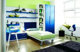blue and green bedroom. Tips And Ideas: Futuristic Bedrooms : Good Looking Kid Decoration Using Furry Dark Blue Green Bedroom