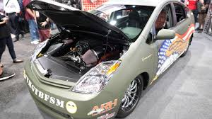 PRIUS SRT8 - Toyota Prius with a Supercharged Hellcat V8 Engine ...