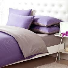 plain duvet covers canada 3 4pcs pure cotton light purple grey assorted bedding sets plain duvet