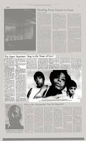 In the name of love (alternate version). The Super Supremes Stop In The Name Of Love The New York Times