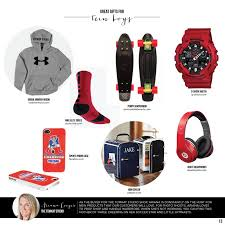 Great Gifts for Teen Boys :: TomKat Holiday Gift Guide | Mini ...