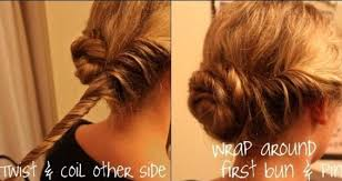 Low Bun Updo Hairstyle Tutorials Prom Updos Popular Haircuts