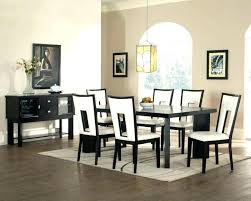 black and white dining room black white dining chair um size of dining room chairs dinette