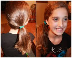 prev next back cute easy hairstyles side pony