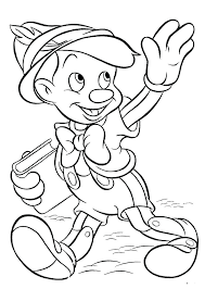 Disney Characters Coloring Page Characters Printable Coloring Pages