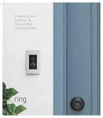 Bhajb001 Video Doorbell Elite User Manual Ring Video