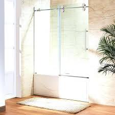 glass shower doors bathtub medium size of home depot sliding canada