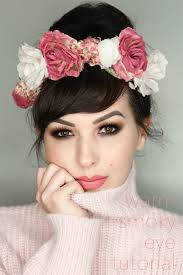 warm smoky eye tutorial valentine s day makeup look