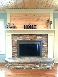 fireplace molding trim around stone replace molding round designs update with stacked painted wood and knotty fireplace molding